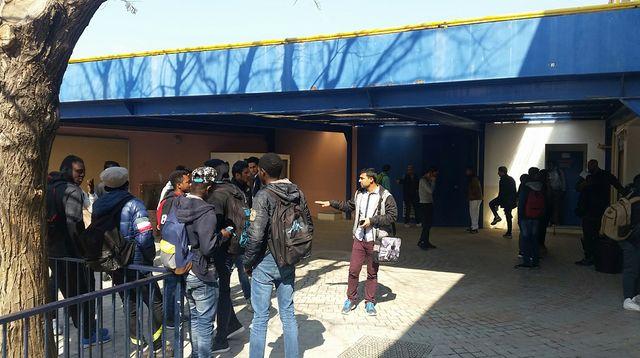 Le lycée professionnel de la Castellane