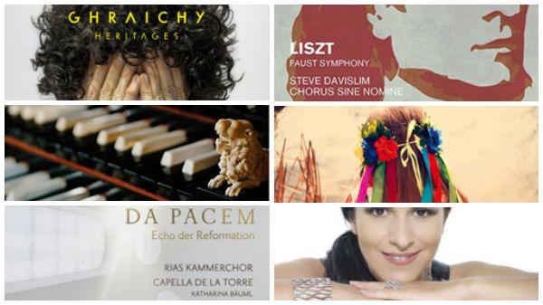 Actualité du disque : Simon Ghraichy, Liszt, Benjamin Righetti, trésors ukrainiens et Echo de la Réforme