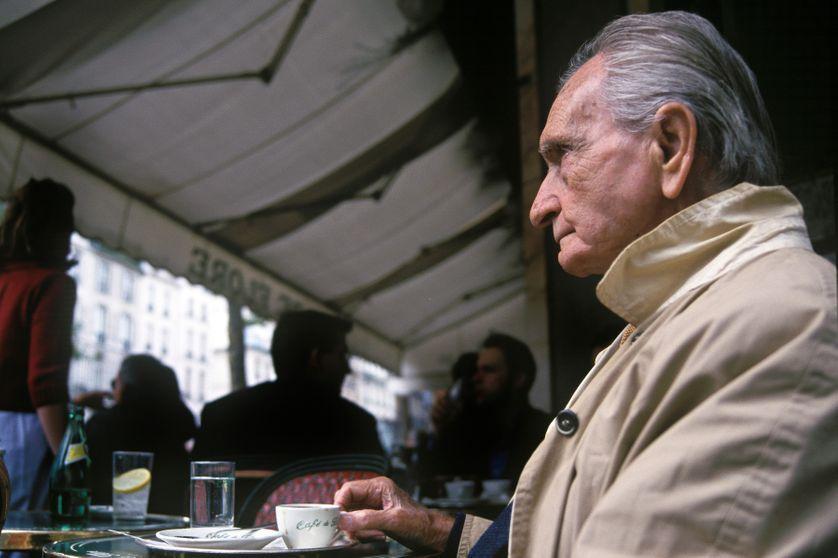 Albert Cossery, French writer in 1999.