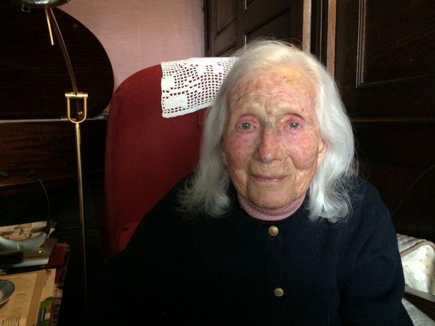 Marie-Joseph Teillard, propriétaire du château de Momas depuis 1983