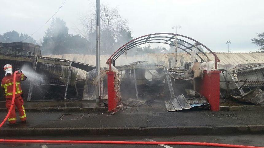 L'incendie a tout détruit