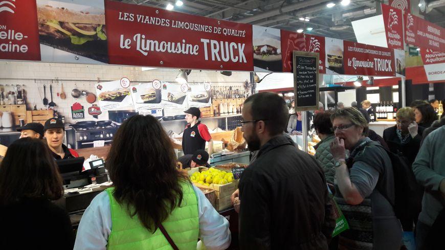 Le Limousine Truck : une cuisine à base de viandes labellisées du Limiousin à consommer sur le pouce