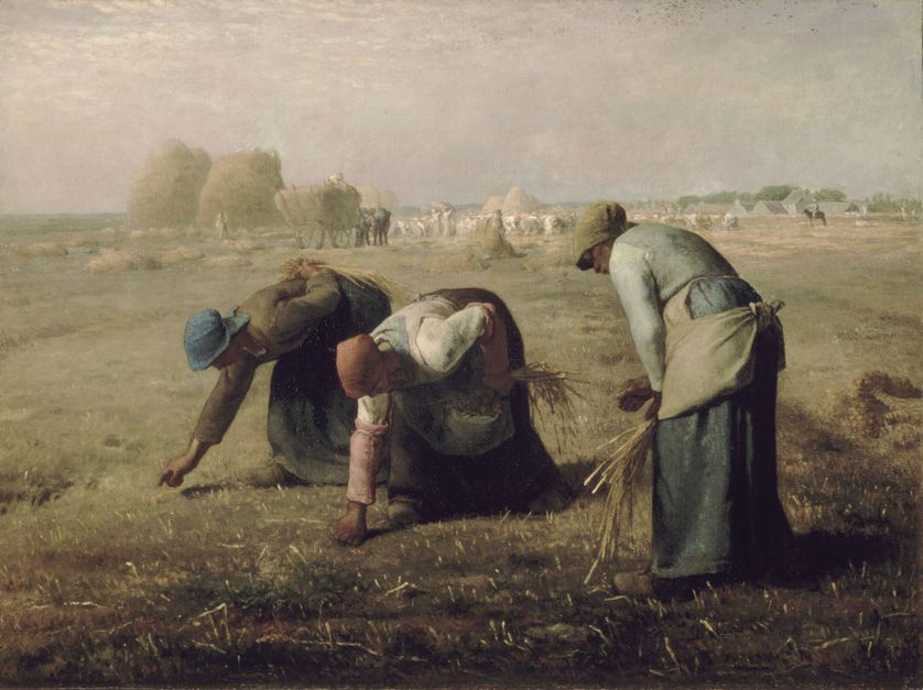 Des Glaneuses de Jean-François Millet (1857)