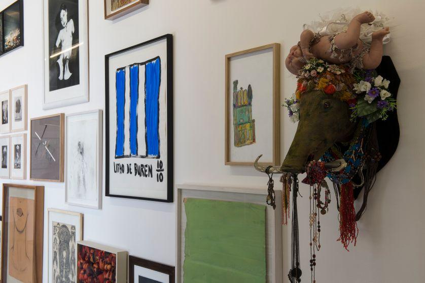 Exposition Le Mur,  œuvres de la Exposition Le Mur, collection d'Antoine de Galbert du 14 juin au 21 septembre 2014