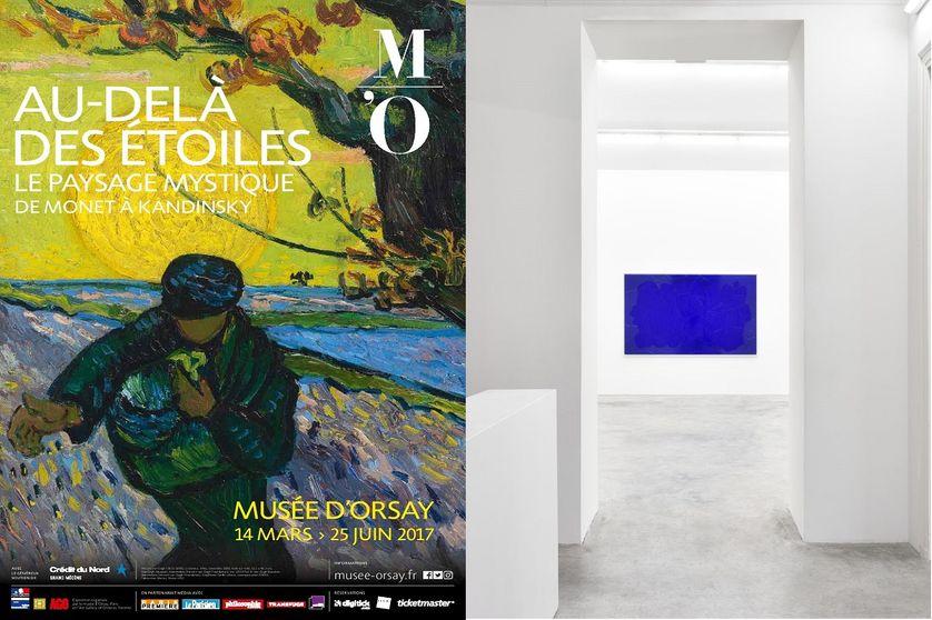 """Affiche """"Au delà des étoiles..."""" Orsay, et captation exposition """"A capella"""""""