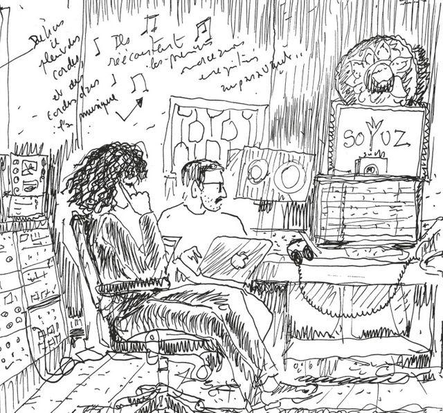 """Détail de """"Je rêve d'ailleurs"""" de Fred Bernard"""