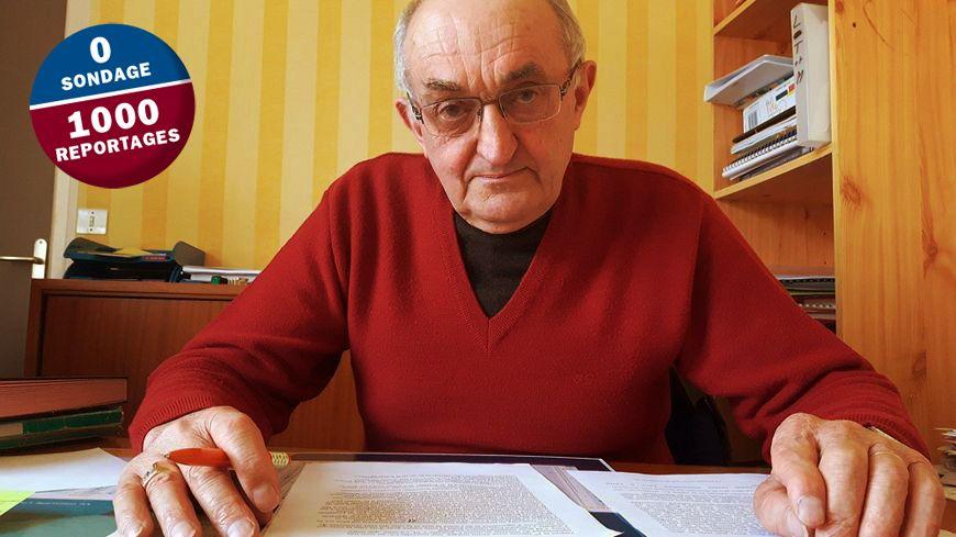 """Alain Briens, maire de Plédéliac, commune de 1400 habitants dans les Côtes d'Armor : """"il n'y a quasiment que des agriculteurs chez nous"""""""