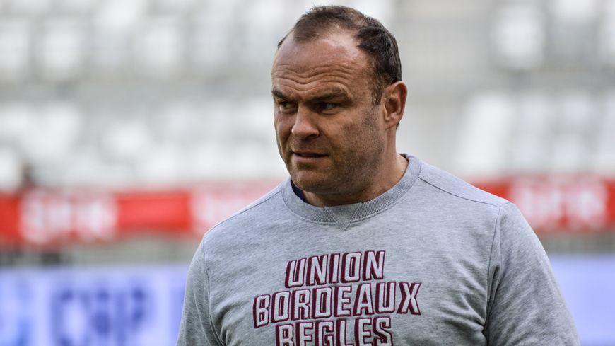 Jean-Baptiste Poux, encore joueur et déjà entraîneur.