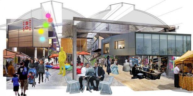 Le Saint So Bazar, un lieu alternatif et créatif où se trouvera notamment un espace de co-working
