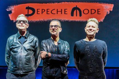 Depeche Mode à Milan, le le 11 octobre 2016.