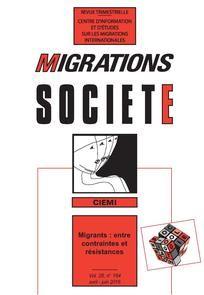 Migration Société n°164