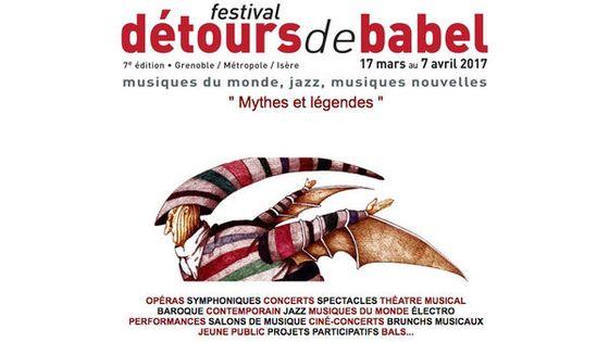 Festival Détours de Babel - édition 2017