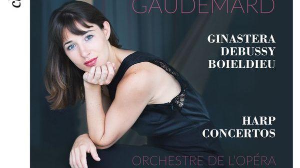 Anaïs Gaudemard présente son album de concertos pour harpe de Ginastera, Debussy et Boieldieu