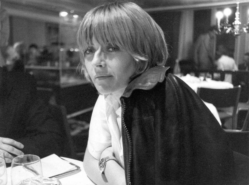 Portrait de l'illustratrice dessinatrice Claire Bretécher, 1978