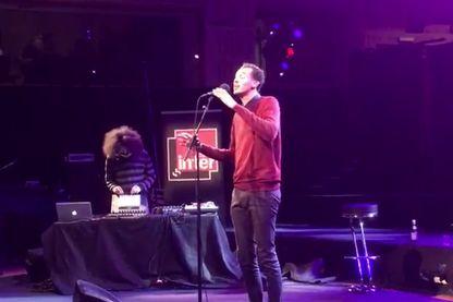 Gaël Faye (capture d'écran vidéo Twitter 07/03/2017)