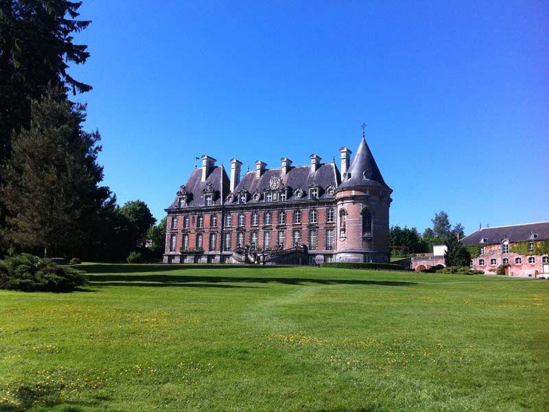 Le château de Trélon
