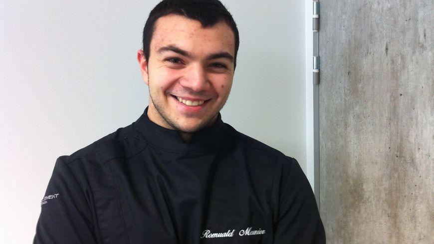 Romuald Meunier - 19 ans - l'apprenti pâtissier en finale des Olympiades des Métiers