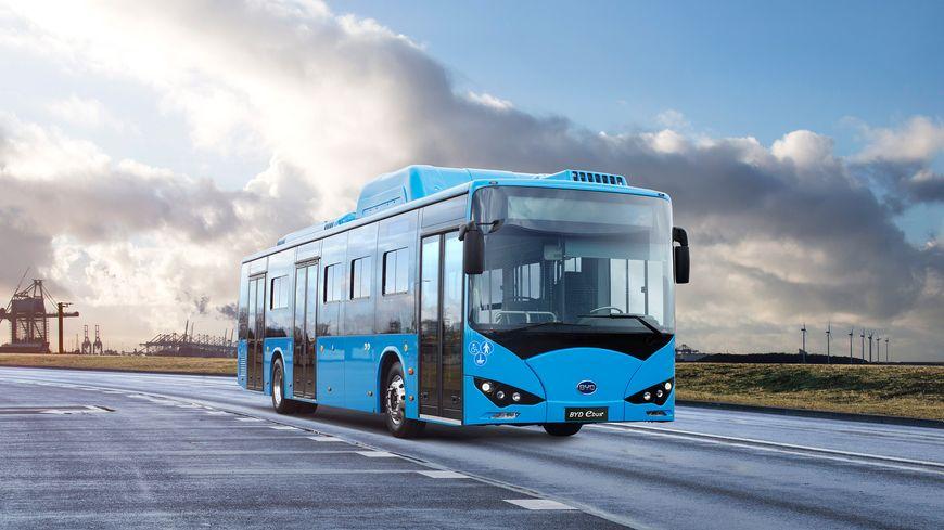 Modèle de bus électrique du Chinois BYD