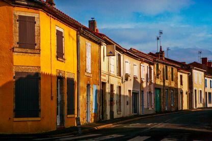 Petit village de Vendée vidé de ses habitants