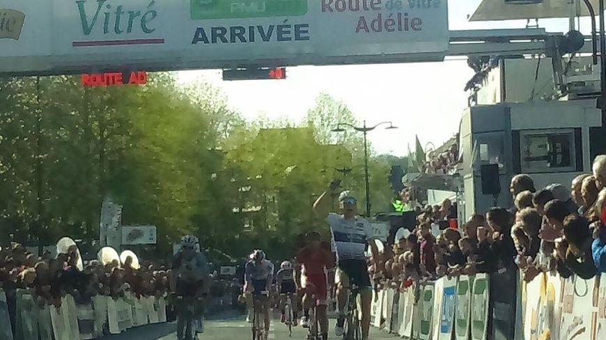 Laurent Pichon s'impose sur cette 22e édition de la route Adélie de Vitré