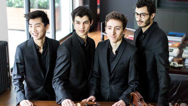 Concert du Quatuor Arod à l'Auditorium du Louvre