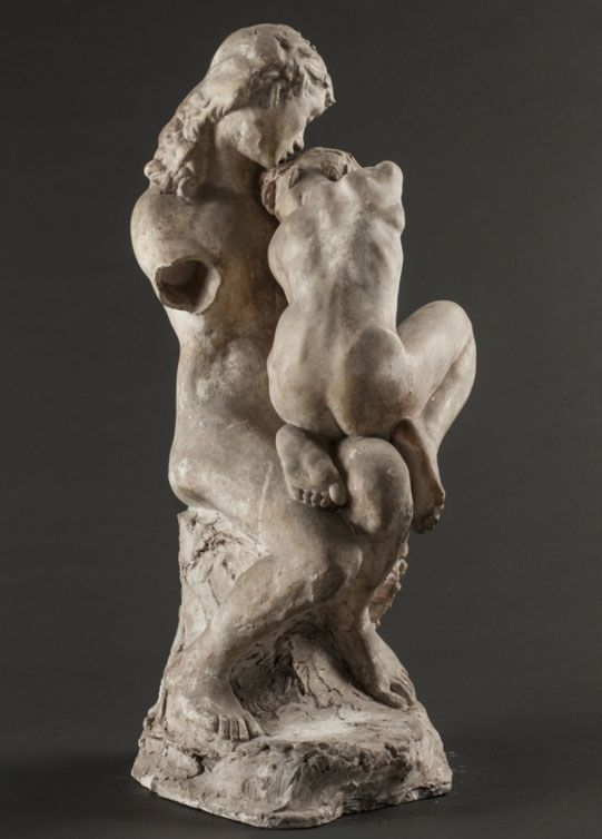 """Absolution"" d'Auguste Rodin"