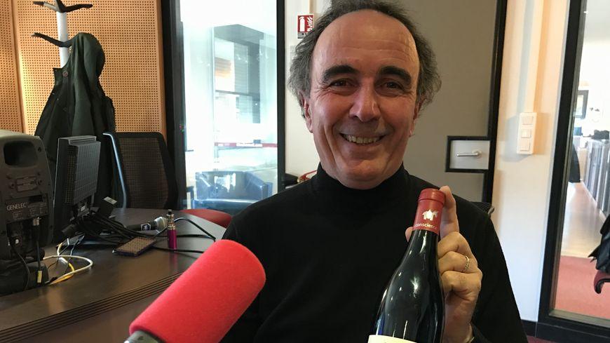Jean-Philippe Granier le directeur technique de l'AOC Languedoc : ce Mas Conscience est un véritable éveil aux sens et au plaisir