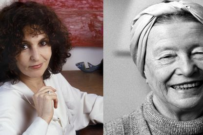 Geneviève Brisac et Simone de Beauvoir