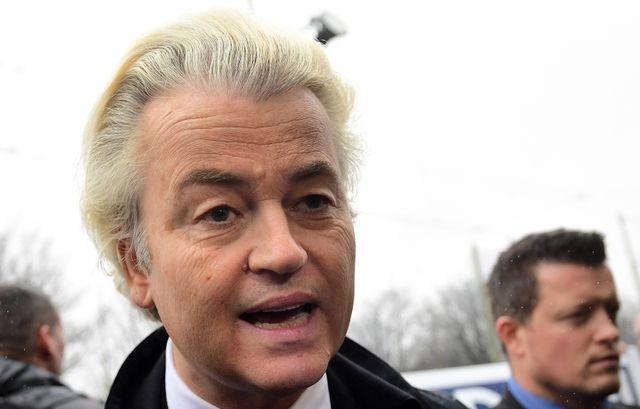 Geert Wilders, leader du parti d'extrême-droite Parti pour la liberté