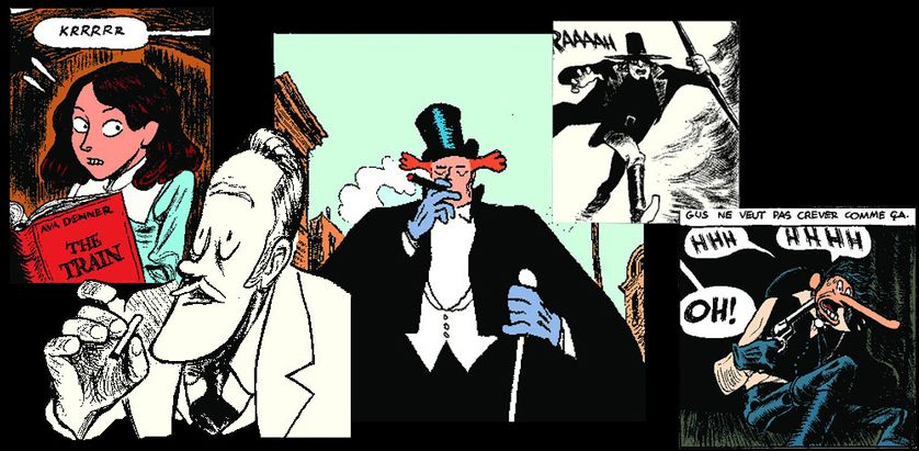 Personnages de la bande dessinée Gus, Tome 4 de Christophe Blain