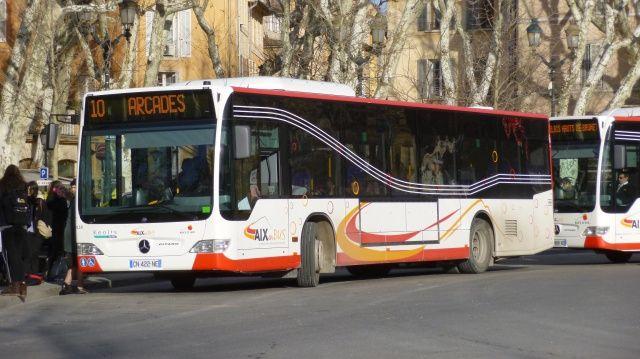 Aucune gr ve sur le r seau aix en bus ce jeudi 9 mars - Aix en provence salon de provence bus ...