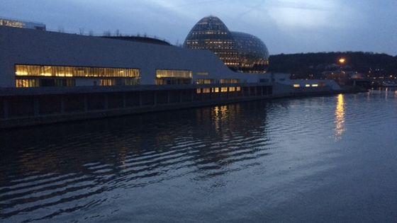 La Seine Musicale sur l'Île Seguin, Boulogne-Billancourt
