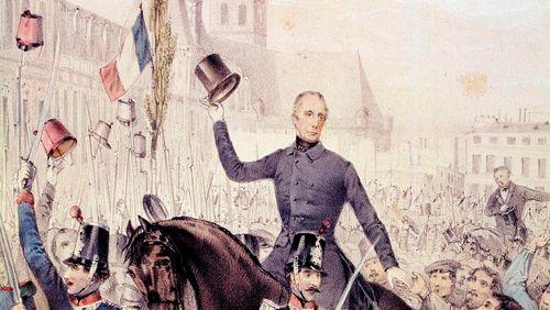 """""""Le Drapeau de la République"""" : une vie de Lamartine"""