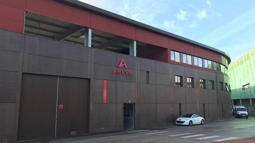 L'usine Areva au Creusot.