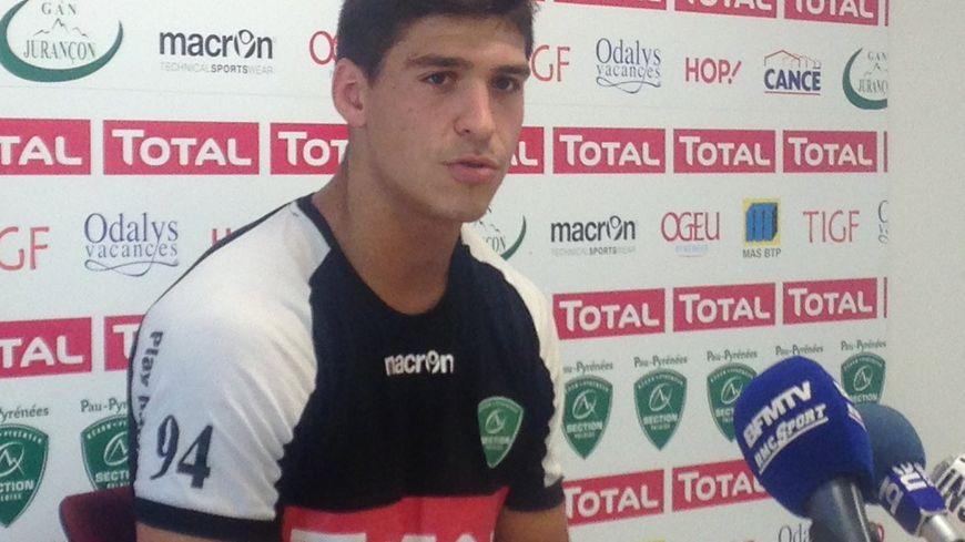 Thibault Daubagna sera titulaire samedi à Clermont, non pas à la mêlée mais à l'aile.