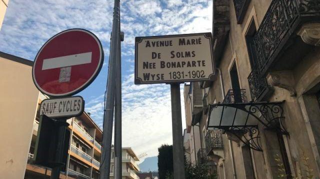 Marie de Solms avenue à Aix-les-Bains