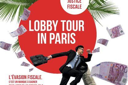 Affiche du Lobby Tour in Paris