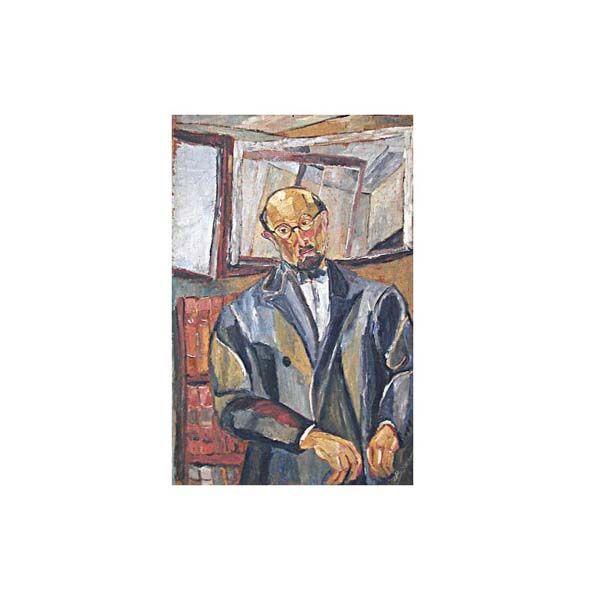 Portrait de Charles Vildrac, par Josette Bournet (v. 1930)