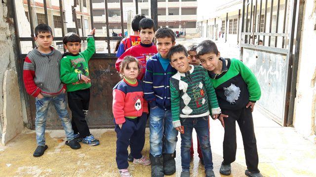 Dans le quartier des réfugiés, à Homs