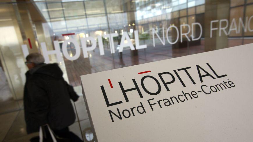 L'hôpital Nord Franche-Comté à Trévenans