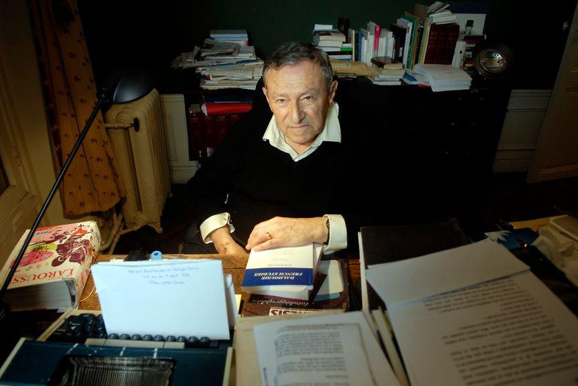 Serge Doubrovsky, père de l'autodiction s'est éteint à 88 ans