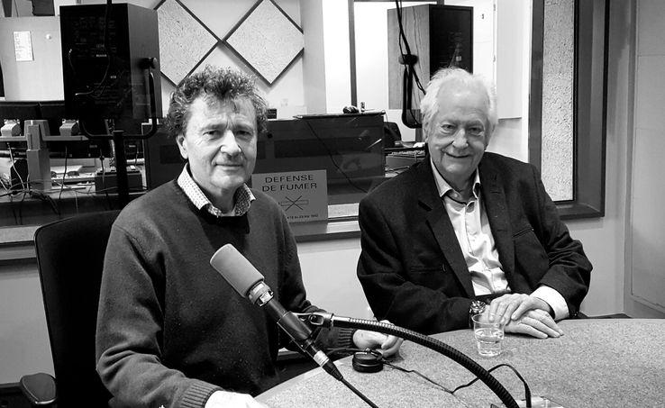 Philippe Garbit et Pierre Bellemare, 2017.