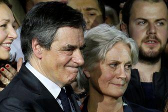 François et Penelope Fillon le 30 janvier 2017