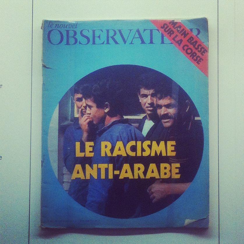 """Une du Nouvel Obs 1971 (archive de l'exposition """"L'Esprit Français. Contre-cultures 1969-1989"""" à l'affiche de la Maison Rouge actuellement)"""