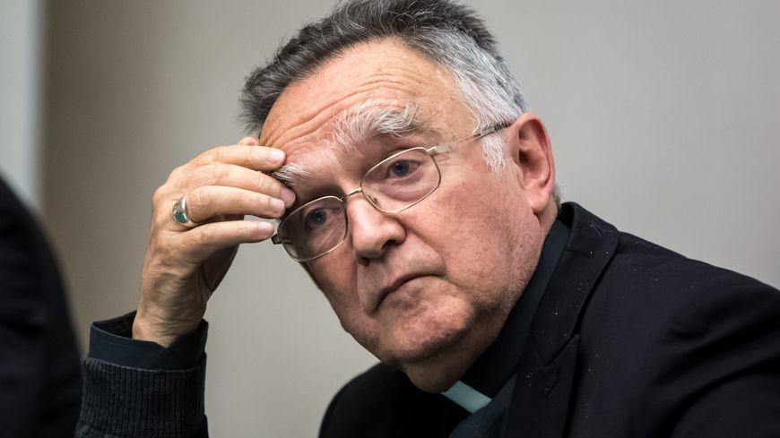 Le président de la Conférence des évêques de France et archevêque de Marseille, Monseigneur Georges Pontier.