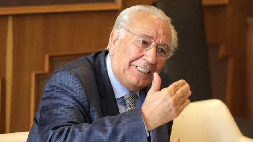Didier Borotra, ancien maire de Biarritz