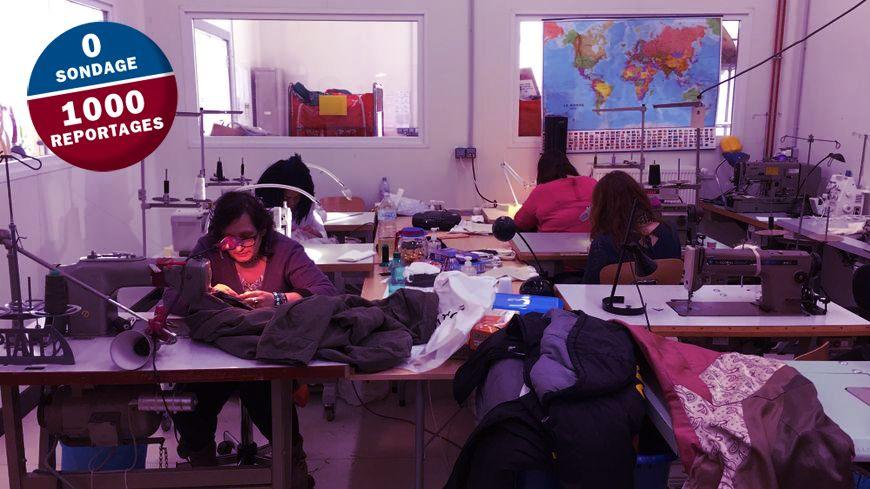 L'atelier couture de l'association Agir à Châteauroux