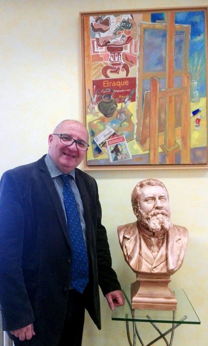 Patrick Malavieille, le maire de La Grand-Combe