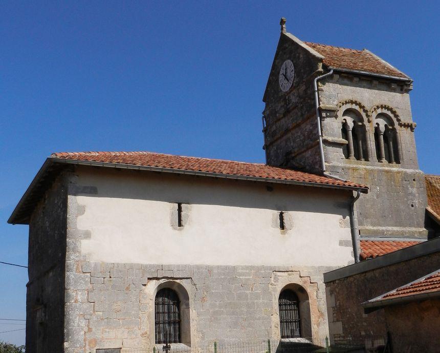 Église romane de Malaumont, en Meuse
