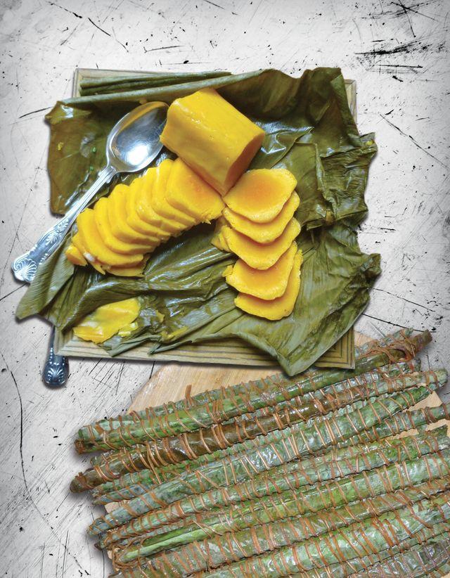 Pain de manioc fermenté. Recette tirée du Patrimoine culinaire africain